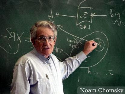 Noam Chomsky - O fundador da escola gerativista nos estudos de linguagem