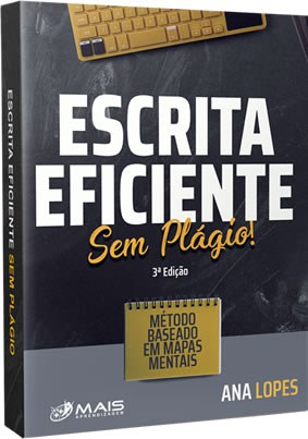 Capa do ebook Escrita Eficiente sem Plágio