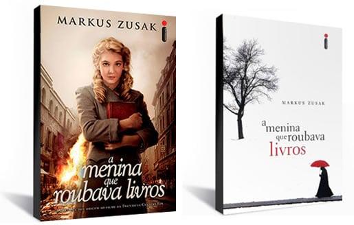 Nova capa do livro/filme A Menina que Roubava livros