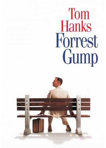 Capa do Filme Forrest Gump