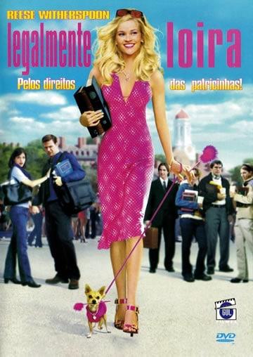 Capa do Filme Legalmente Loira
