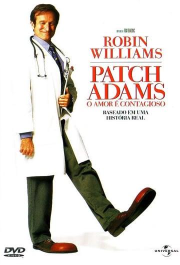 Capa do Filme Patch Adams - O Amor é Contagioso