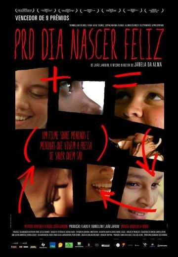 Capa do Documentário Pro Dia Nascer Feliz