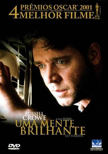 Capa do Filme Uma Mente Brilhante