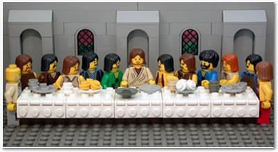 A Santa Ceia - LEGO