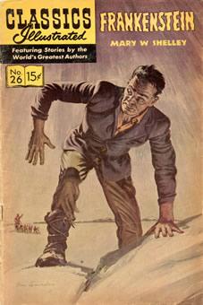 Literatura em quadrinhos: Frankenstein