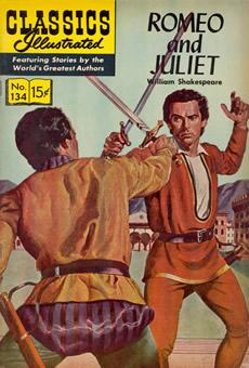 Clássicos da literatura em quadrinhos: Romeo and Juliet