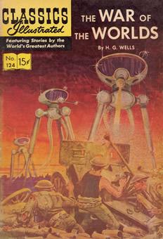 Literatura clássica em quadrinhos: The war of the worlds