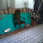 O trono de Galadriel, em Lothlórien
