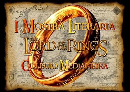 Convite para I Mostra Literária - O Senhor dos Anéis