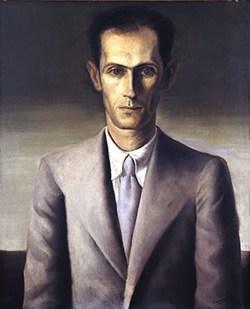 Retrato de Carlos Drummond de Andrade pintado por Portinari