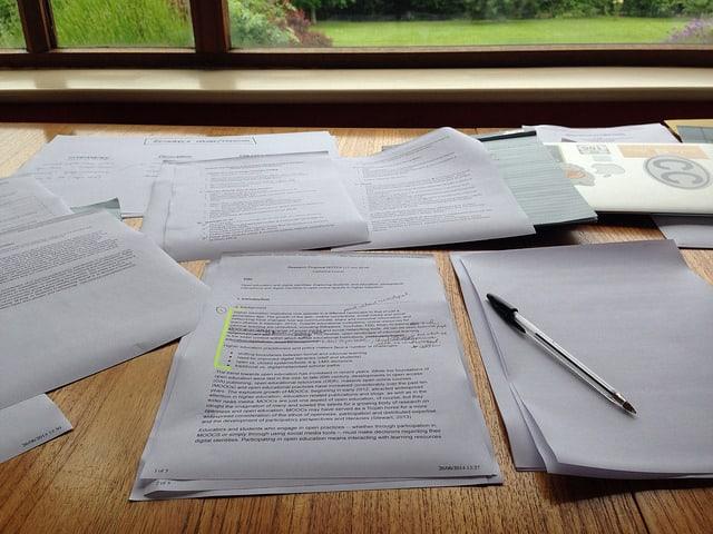 Trabalho de pesquisa organizado pelas normas ABNT