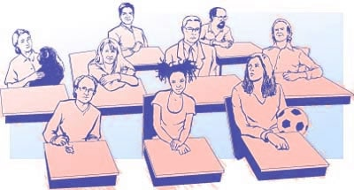 Alunos com inteligências múltiplas na sala de aula