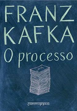 Capa do livro O Processo, de Franz Kafka