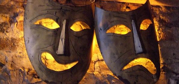 Tragédia e Comédia - Máscaras