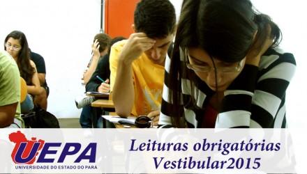 Leituras obrigatórias UEPA 2015