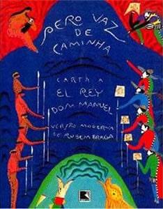 Capa do livro A Carta, de Pero Vaz de Caminha
