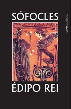 Capa do livro Édipo Rei, de Sófocles