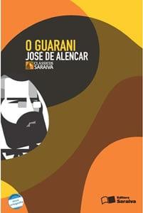 Capa do livro O Guarani, de José de Alencar