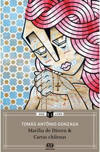 Capa do livro Marília de Dirceu, de Tomás Antônio Gonzaga