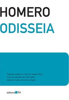 Capa do livro Odisseia, de Homero