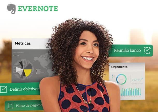 Evernote Site PrintScreen