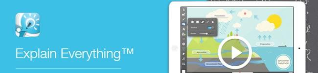 App Explain Everything - Para anotações de professores e alunos
