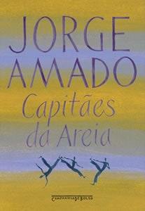 Capa do livro Capitães da Areia, de Jorge Amado