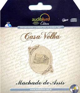 Capa do livro Casa velha, de Machado de Assis