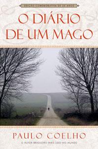 Capa do livro O Diário de um Mago, de Paulo Coelho