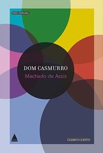 Capa do livro Dom Casmurro, de Machado de Assis