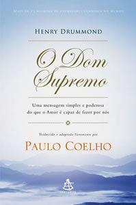 Capa do livro O Dom Supremo, de Paulo Coelho