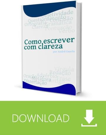 E-book Grátis: Como Escrever com Clareza