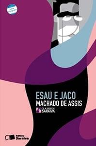 Capa do livro Esaú e Jacó, de Machado de Assis