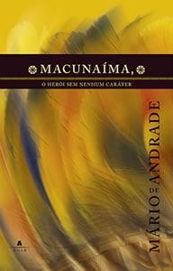 Capa do livro Macunaíma, de Mário de Andrade
