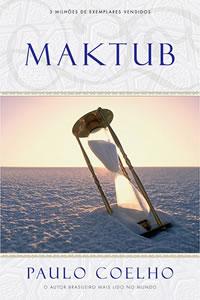 Capa do livro Maktub, de Paulo Coelho