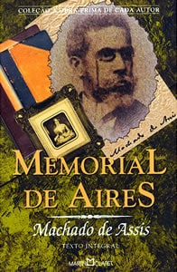 Capa do livro Memorial de Aires, de Machado de Assis