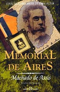 Capa do livro Memorial de Aires, de Machado de Assis