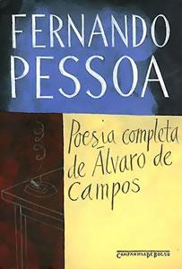 Capa do livro Poesia Completa de Álvaro de Campos