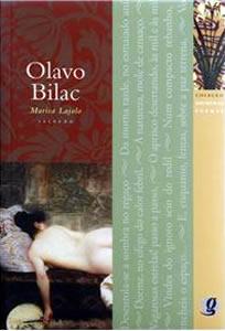 Capa do livro Melhores Poemas de Olavo Bilac