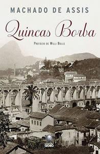 Capa do livro Quincas Borba, de Machado de Assis