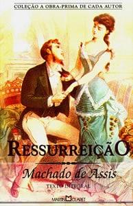 Capa do livro Ressurreição, de Machado de Assis