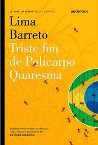 Capa do livro Triste Fim de Policarpo Quaresma, de Lima Barreto