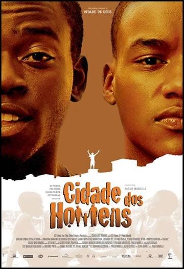 Capa do Filme Cidade dos Homens