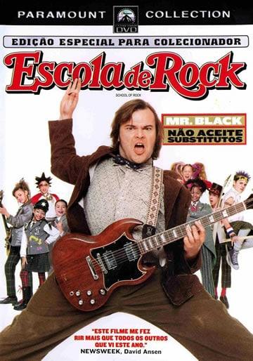 Capa do Filme Escola de Rock