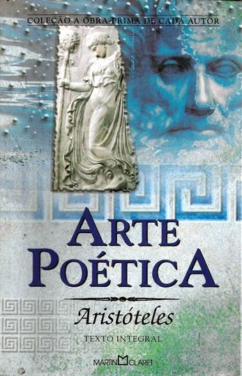 Capa do livro Arte Poética, de Aristóteles, da Editora Martin Claret