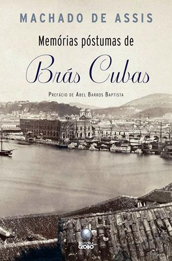 Capa do livro Memórias Póstumas de Brás Cubas, de Machado de Assis