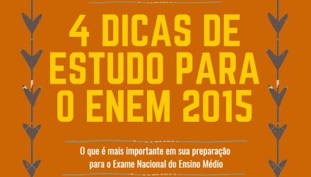 As Dicas de Estudo e Organização mais importantes para o ENEM