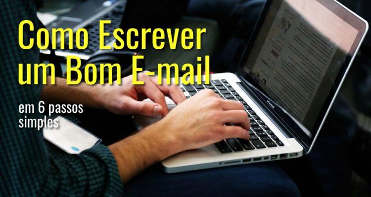 Como escrever um e-mail