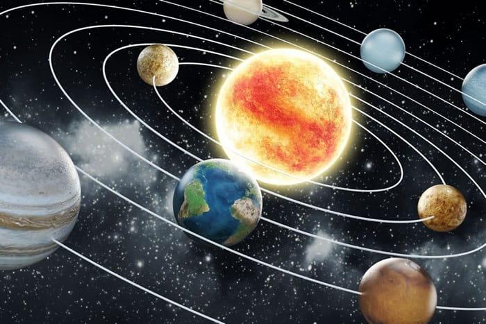 Sistema Solar - Aprender Física fácil